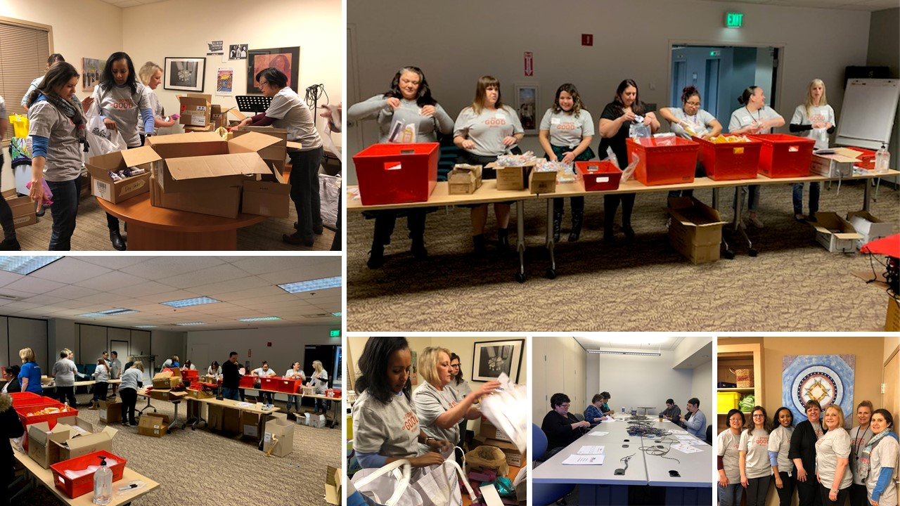 Cambia Celebration of Giving Week Volunteering