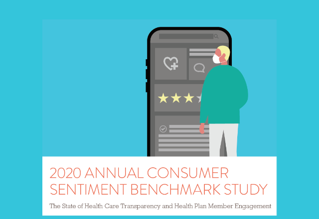 "To look deeper at what's empowering people to participate more fully in their health care, read the full report ""HealthSparq Consumer Sentiment Benchmark Study 2020."""
