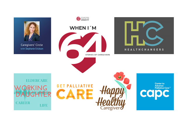 Palliative Care Month Podcast Logos