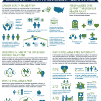 Cambia Health Solutions Palliative Care Infographic