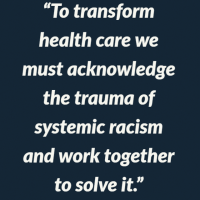 Peggy Maguire quote on systemic racism