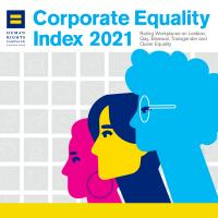 Corporate Equality Index 2021 logo