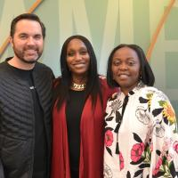 """The Power of Giving Back"" was the theme at this year's Black History Month Celebration, where Cambia's African American Employee Resource Group (AAERG), held a panel discussion about community impact - Jorge Casimiro, Nike Community Impact"